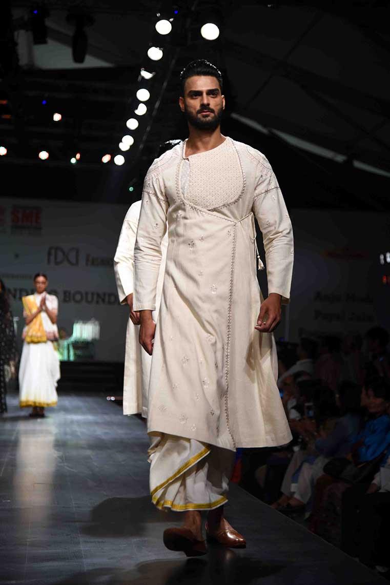 Anju Modi + FDCI + Khadi
