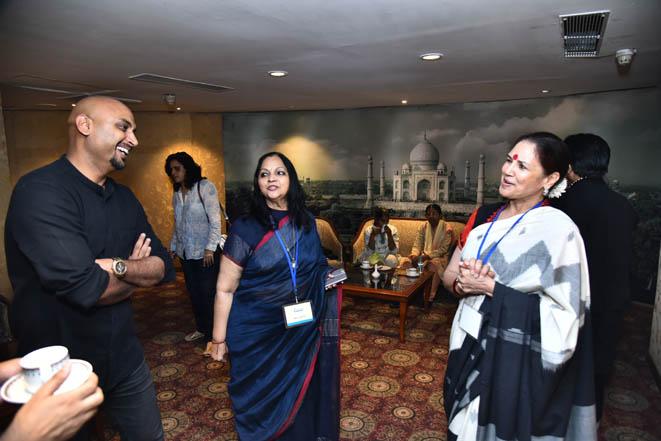 Samant Chauhan, Indu Gupta & Sarita Baluja