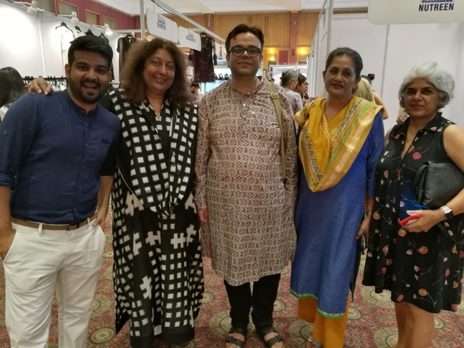 Karan Bhardwaj, Madhu Jain, Wajahat Habibullah, Shashi Sunny & Anita Kapur Bhargava