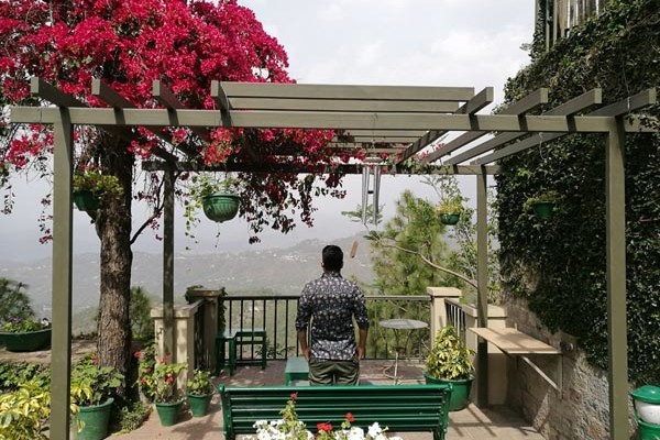 BornofWeb's Founder Karan Bhardwaj at a staycation at 7 Pines, Kasauli